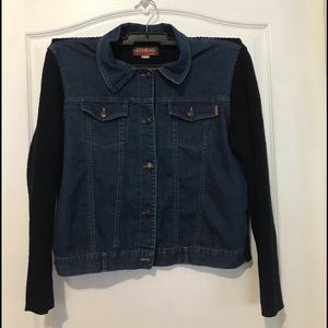 Jackets & Blazers - Juess selected jean sweater jacket size:XL